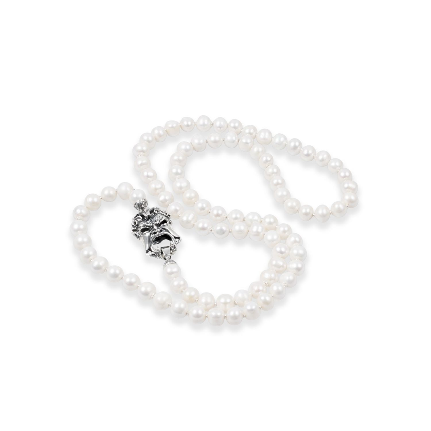 Pearls Necklace with Mask (27575)