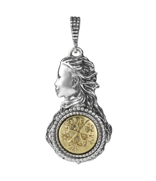 Mesi Reverse December-Winter Pendant (27755)
