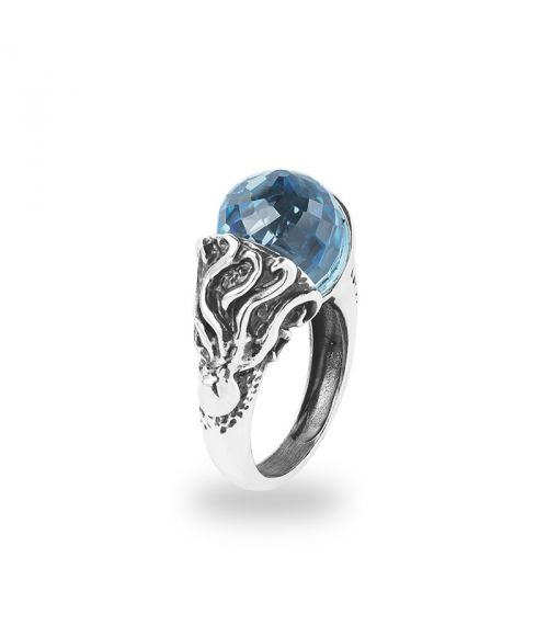 Seasons Summer Ring with stone (27768)