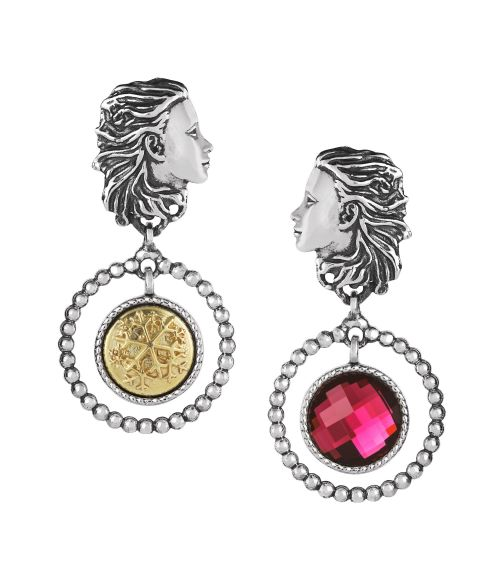 Mesi Reverse December-Winter Earrings (27830)