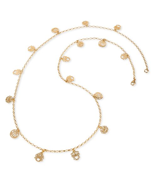 Chanel Necklace with Masks and Coins (27860)
