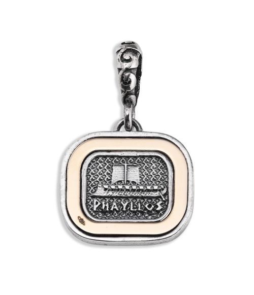 Phayllos Pendant with gold frame (27885)