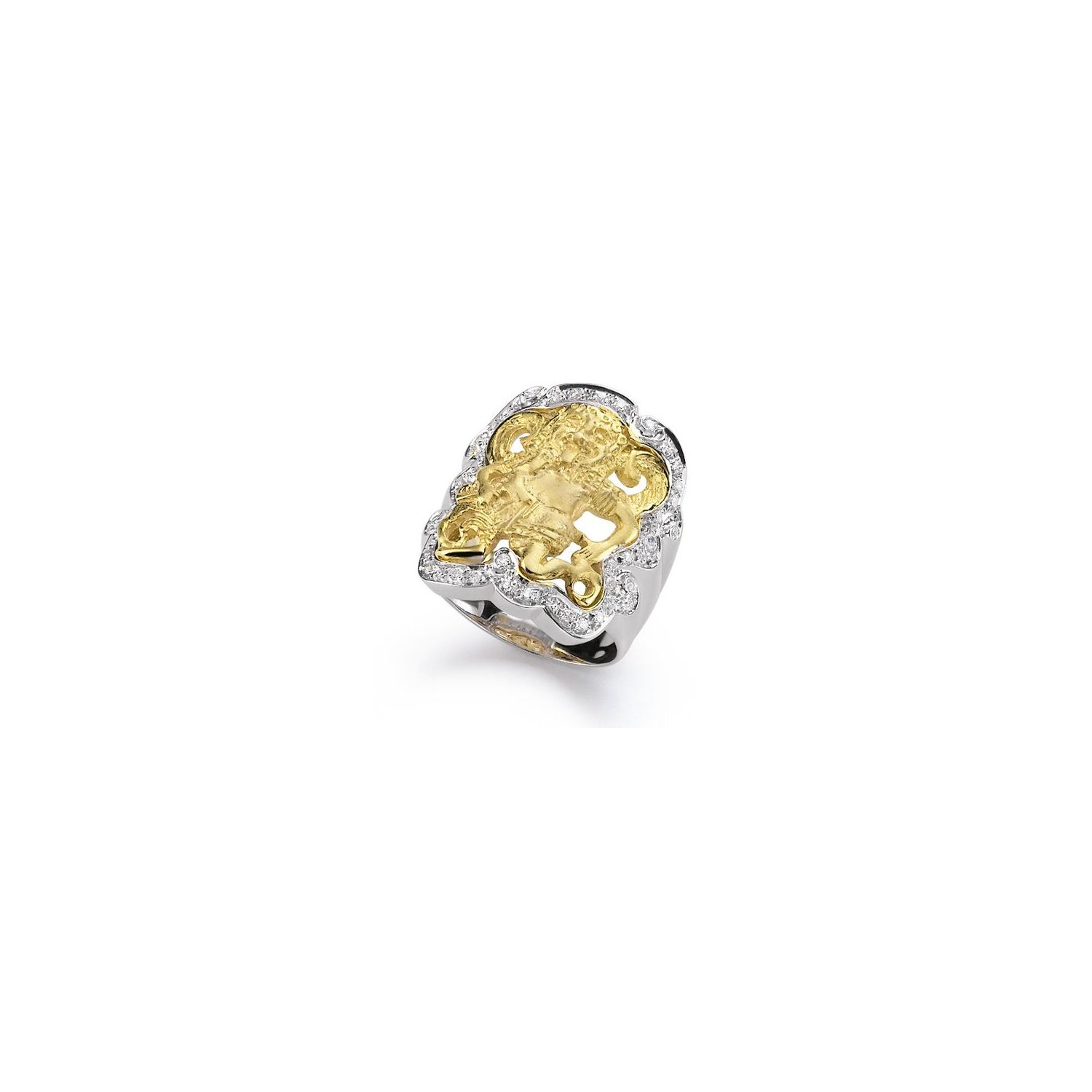 Anello Gorgone in Oro (61306)