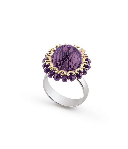 Ring with Amethyst (18908)