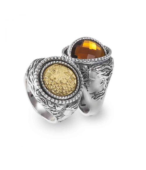Mesi Reverse Autumn Rings