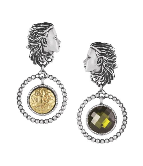 Mesi Reverse Spring Earrings