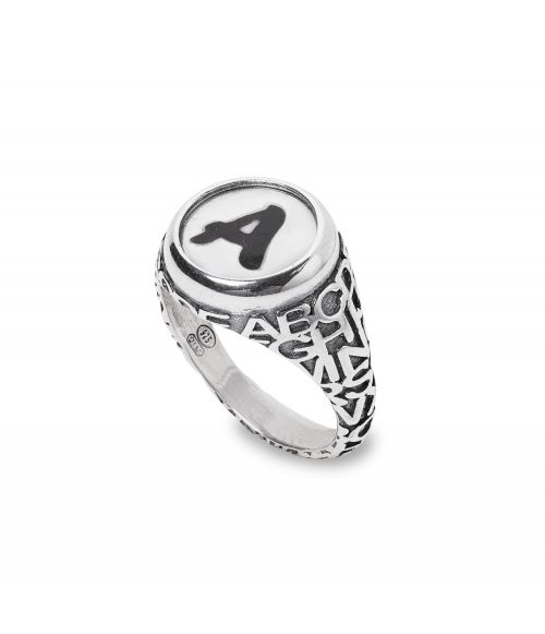 Letter A Ring (28030A)