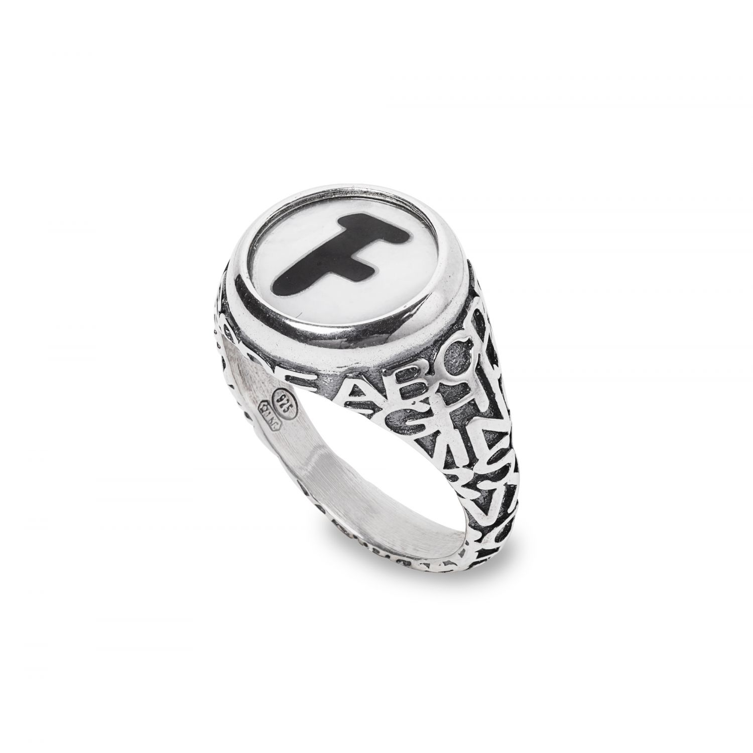 Letter F Ring (28030F)