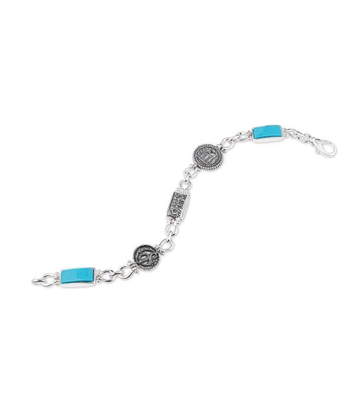 Bracelet with double-faced elements (50223)