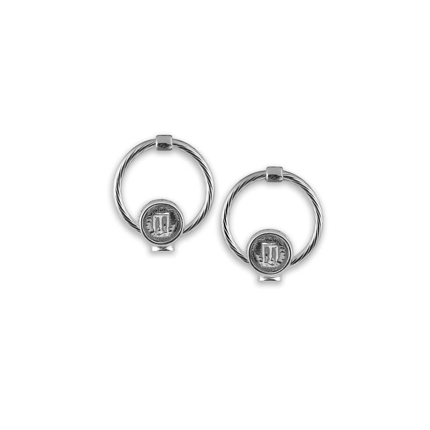 Earrings with Statere Coin (33504)