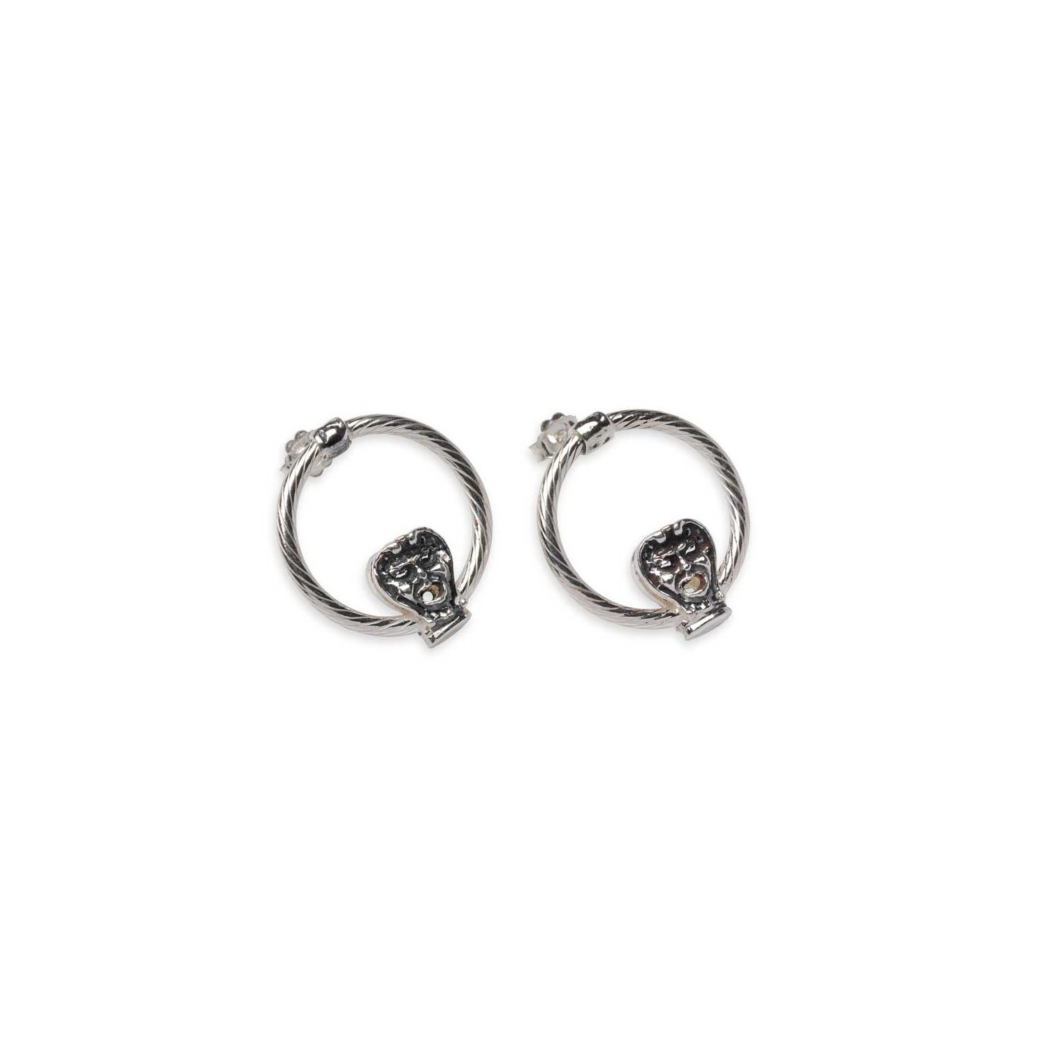 Earrings with Masks (33505)