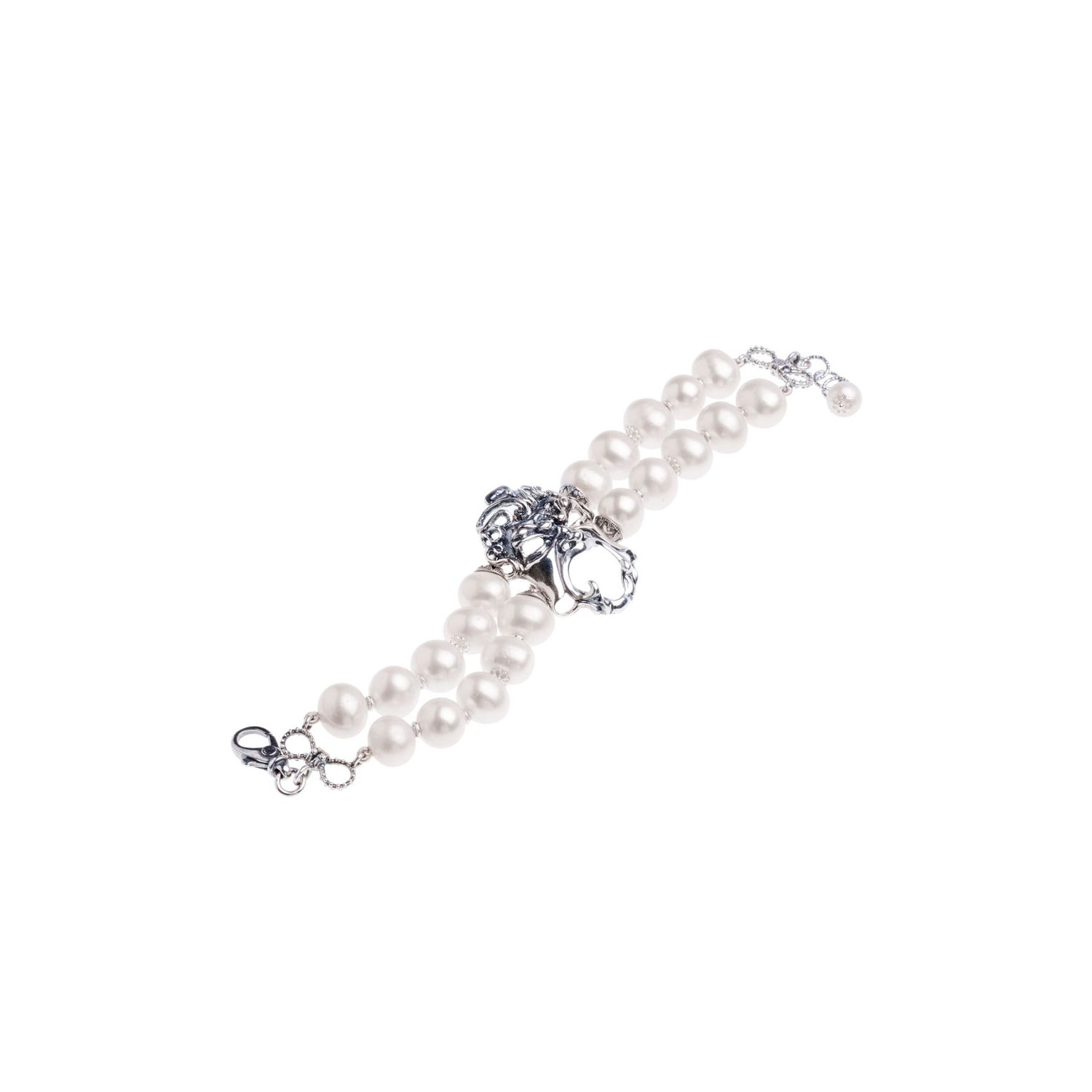 Pearls and Mask Bracelet  (27554)