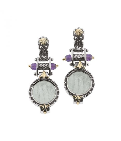 Glass Paste Earrings (35110)