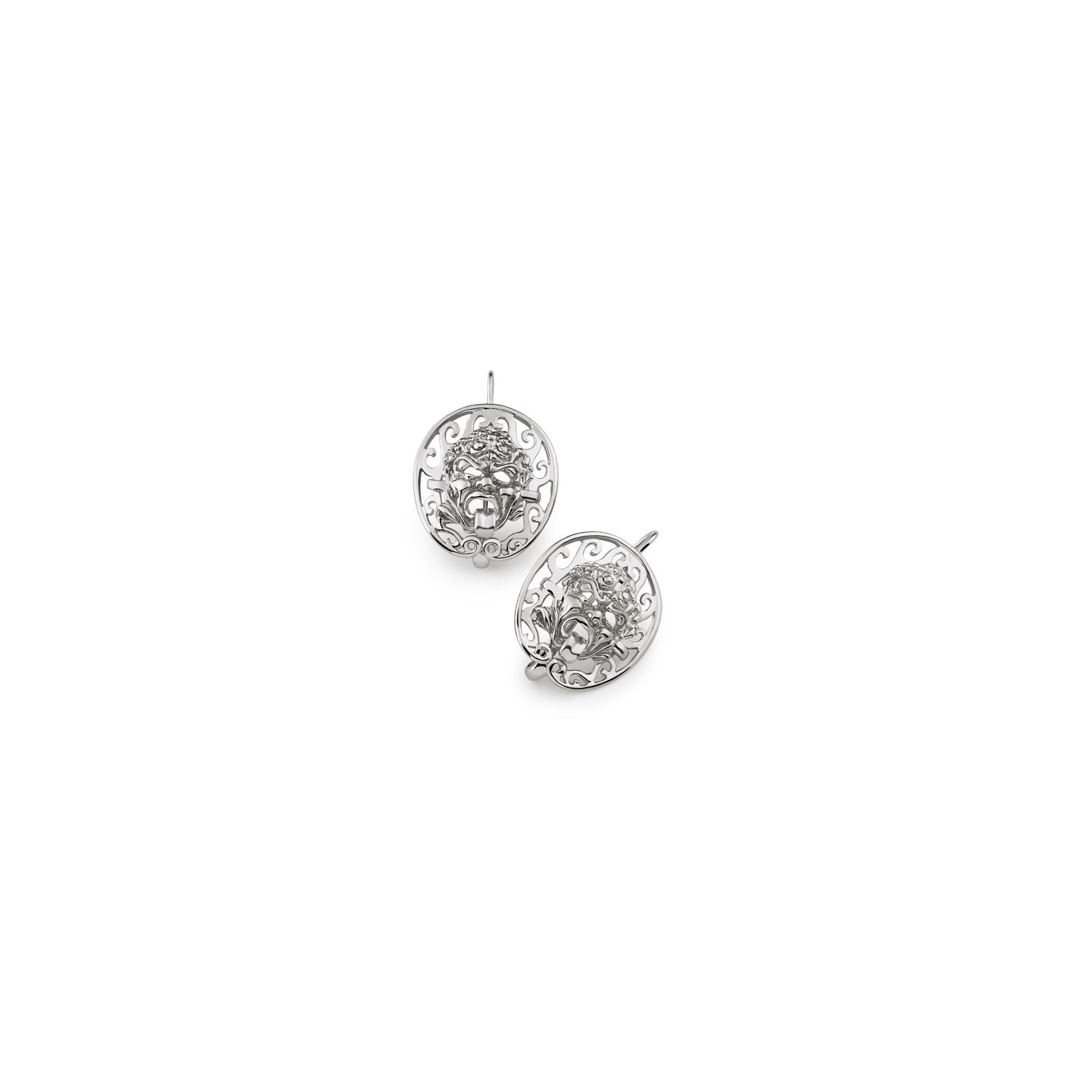 Earrings with Masks (34009)