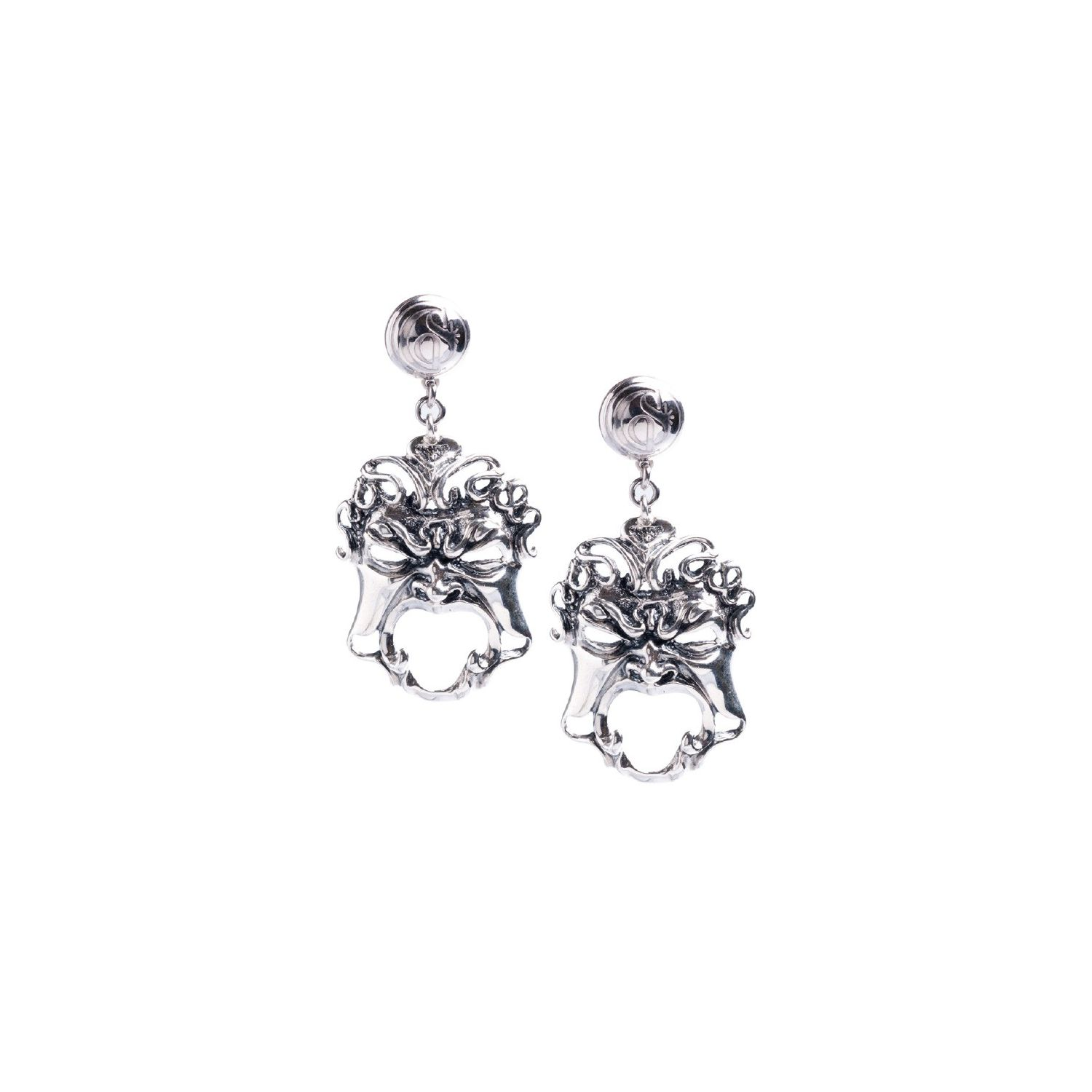 Earrings with Masks (27578)