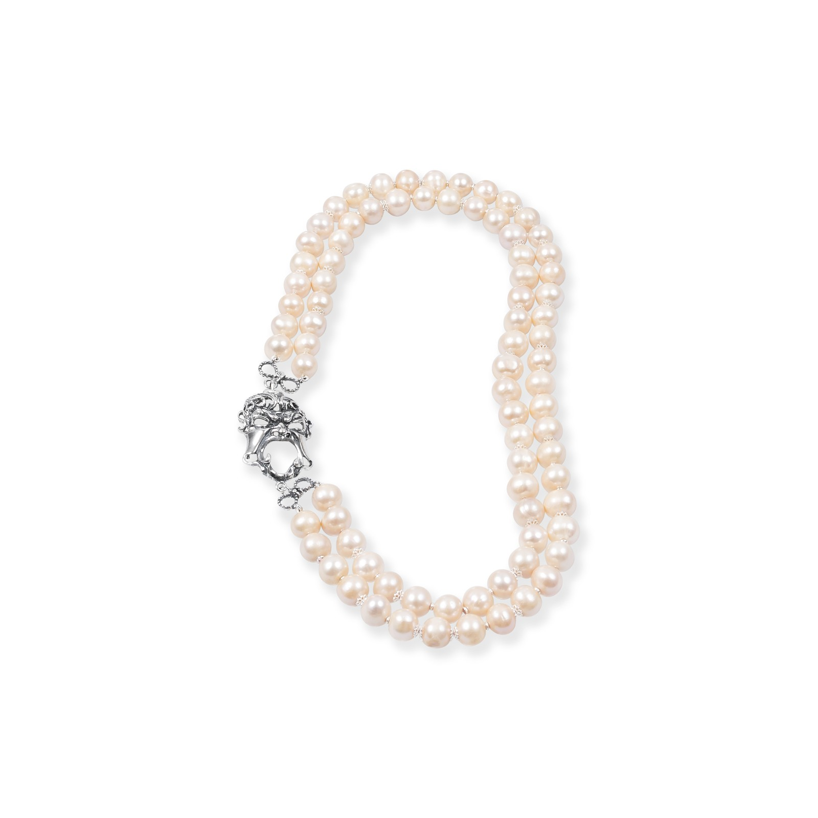 Perls and Mask Necklace (27555)