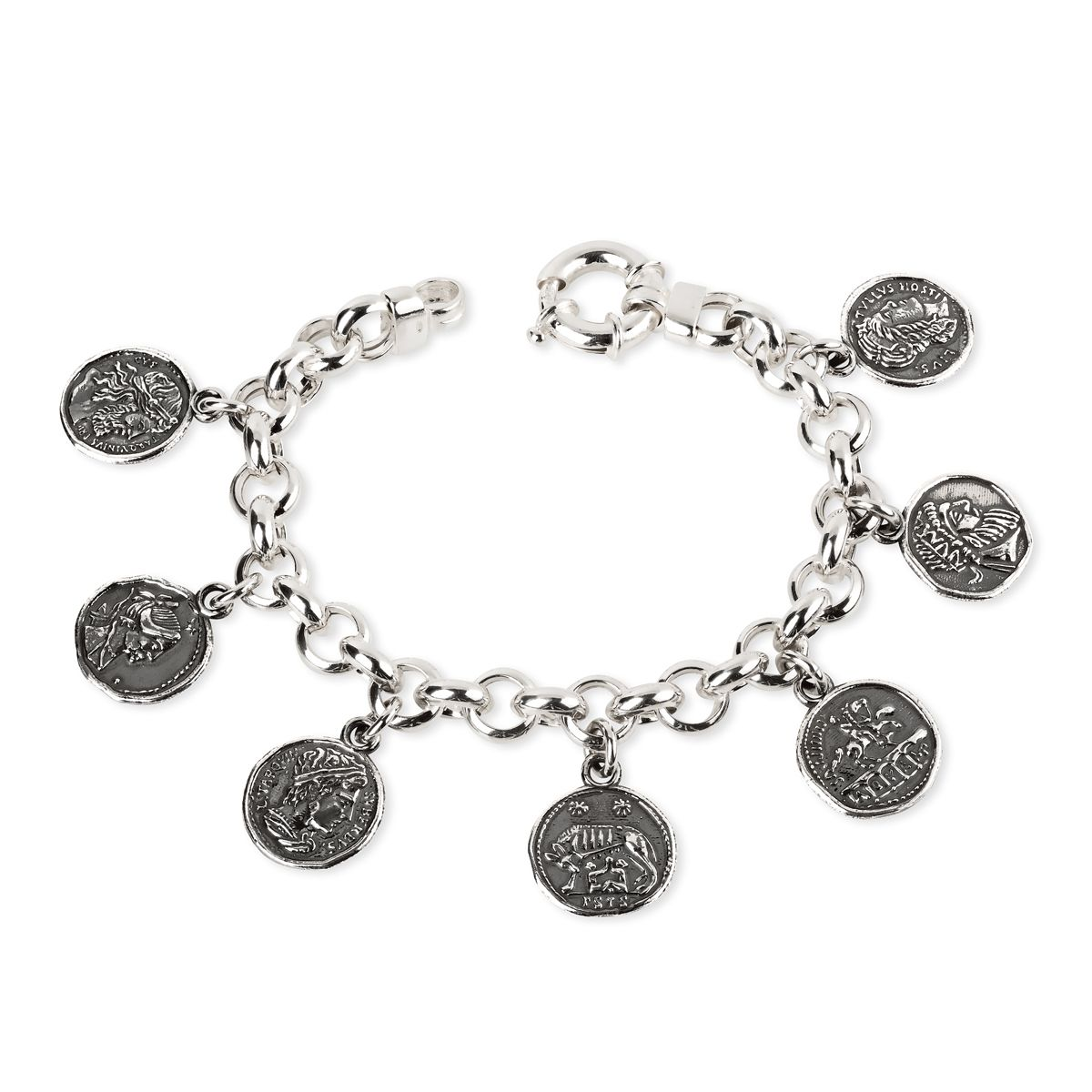 Bracelet with Ancient Rome Coins (33688)