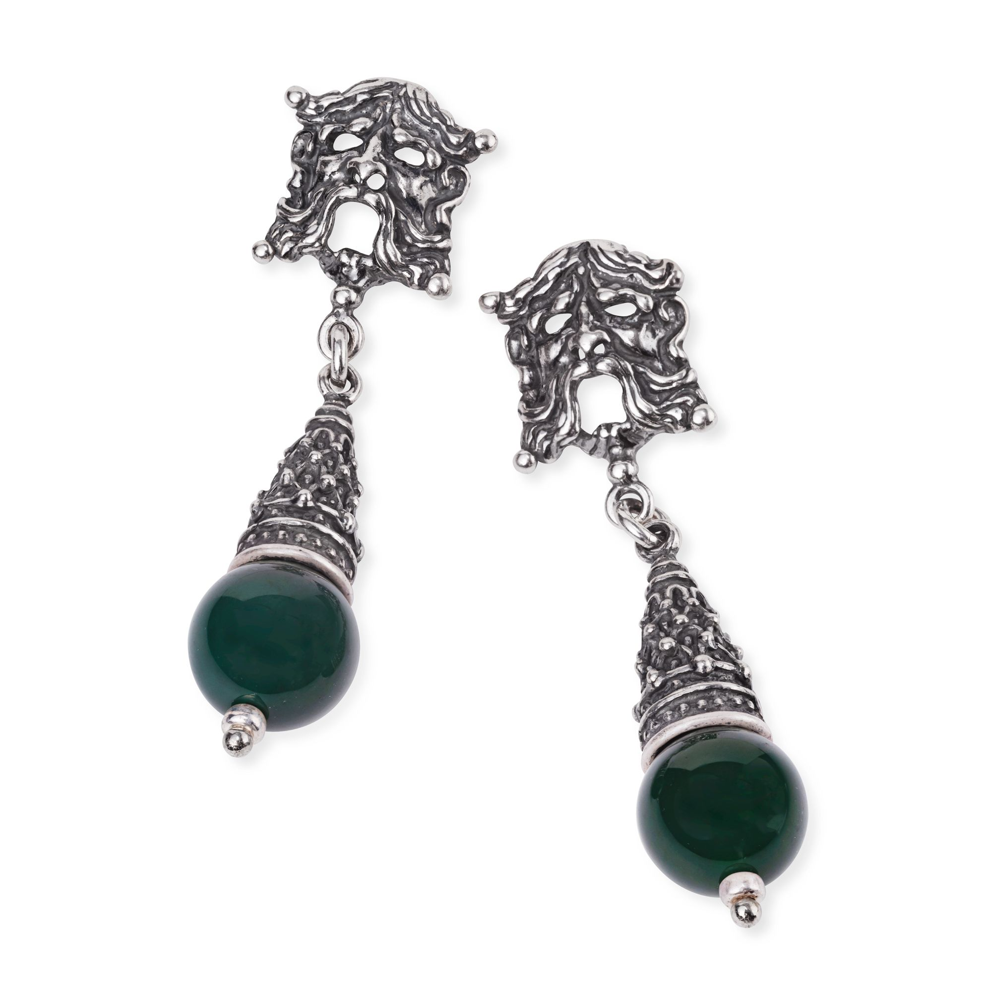 Earrings with Masks (33359)
