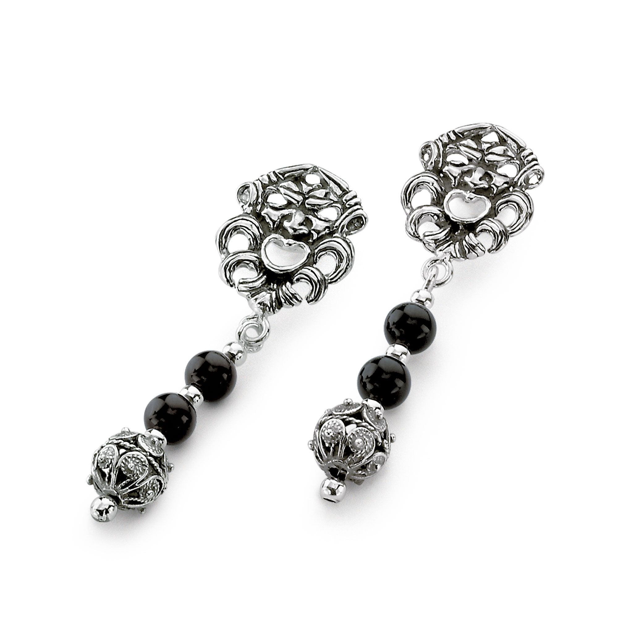 Earrings with Masks (31222)