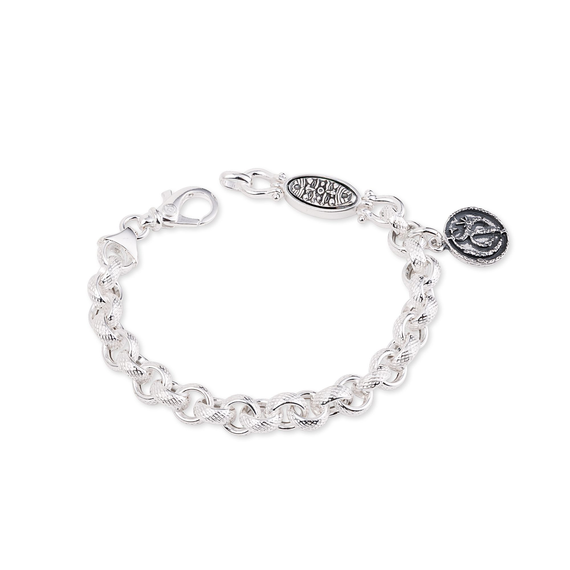Chain Bracelet with double-faced element (50226)
