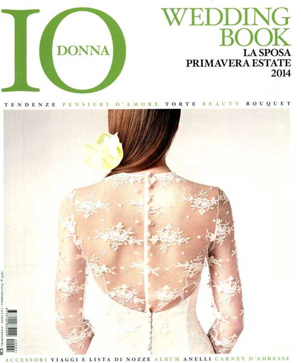 Copertina di Io donna Wedding Book: legami preziosi per sempre