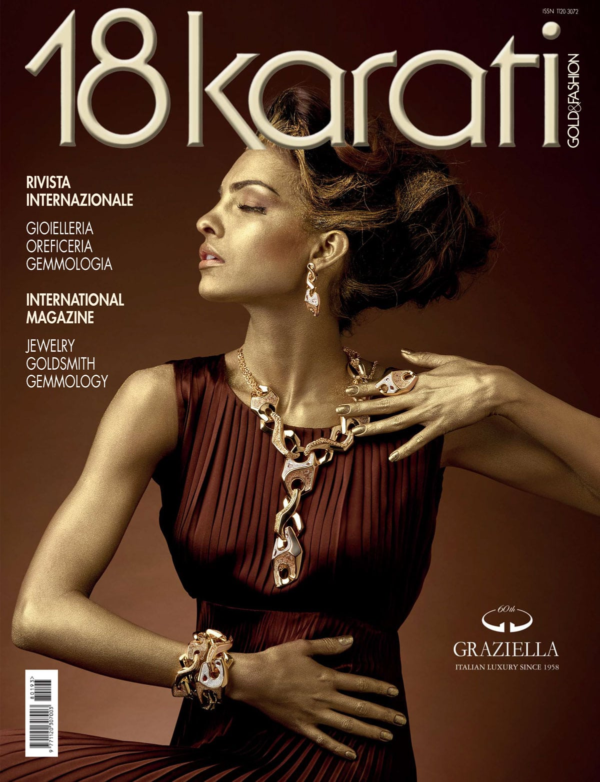 Copertina 18 karati Gold & Fashion